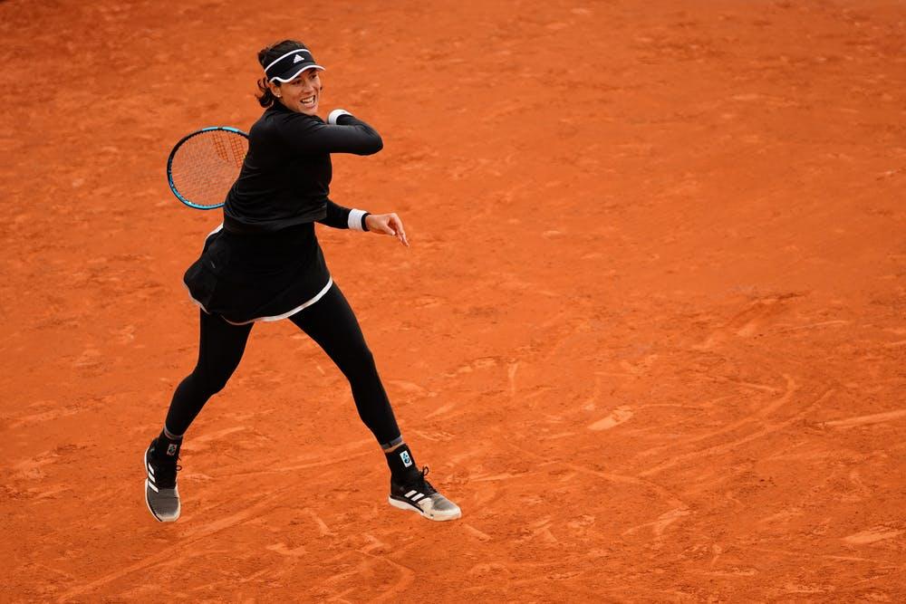 Garbiñe Muguruza, Roland Garros 2020, first round
