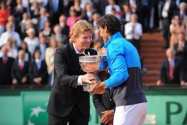 Jim Courier, Rafael Nadal, Roland Garros 2011