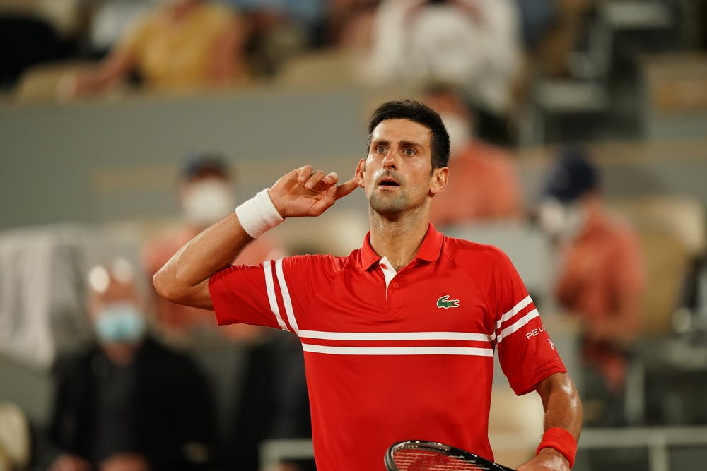 Novak Djokovic, Roland-Garros 2021 semi