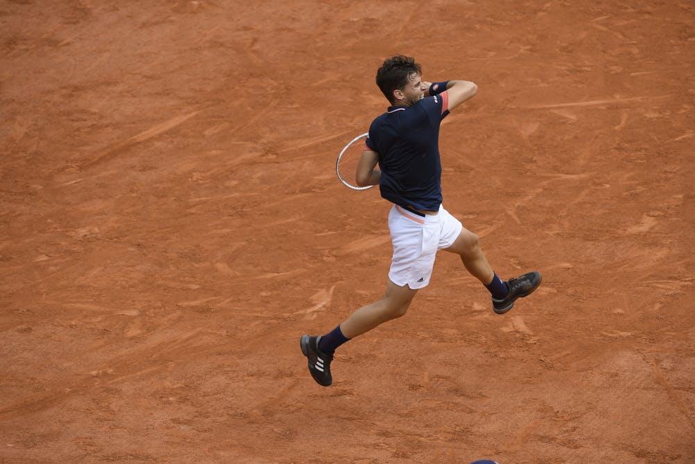 Dominic Thiem, Roland Garros 2018, Simple Messieurs, 1/2 Finale