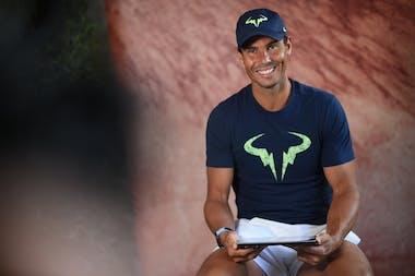 Rafael Nadal, Roland-Garros 2021, media day