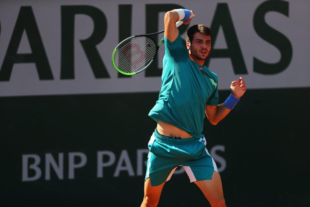 Pedro Martinez, Roland Garros 2020, qualifying first round.