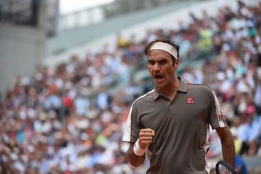 Roger Federer - Roland-Garros 2019 - quarts de finale.