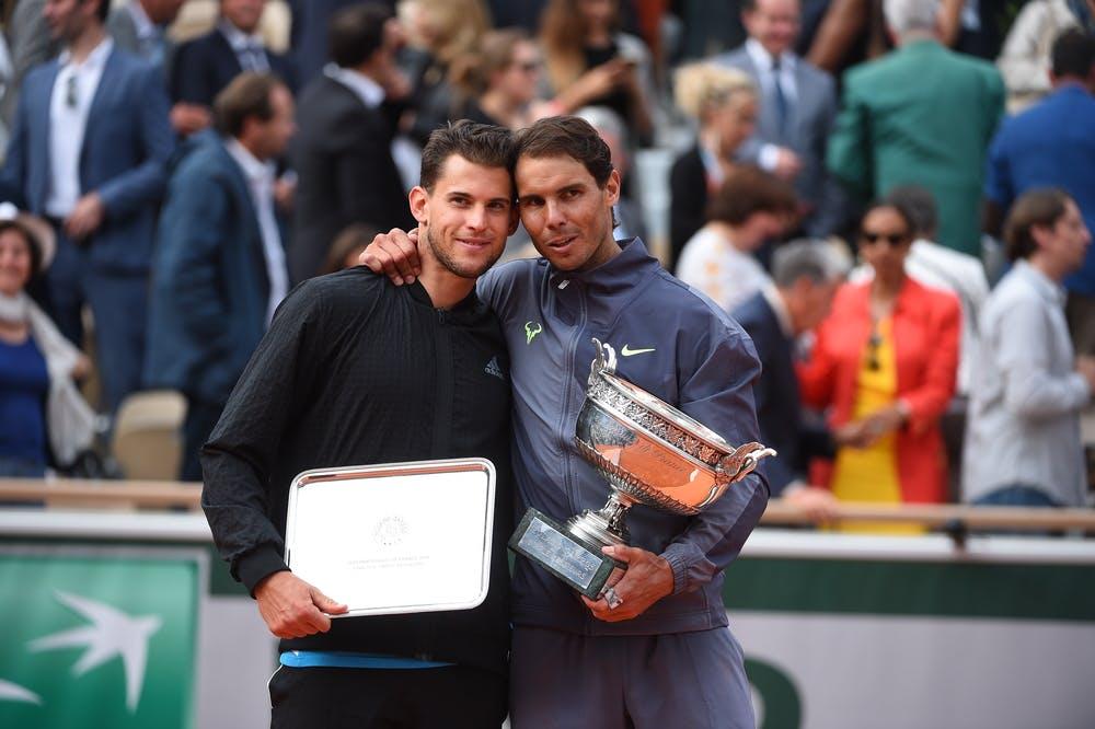 Nadal Thiem Roland-Garros 2019