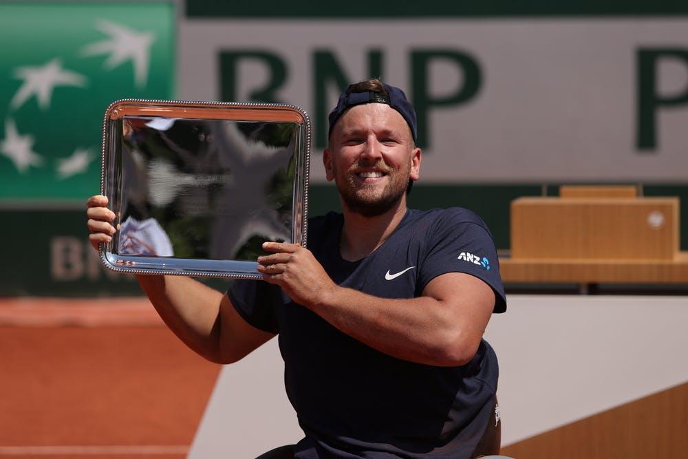 Dylan Alcott, Roland-Garros 2021, quad wheelchair singles champion