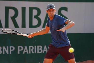 Daniel Elahi Galan, Roland Garros 2020, qualifying