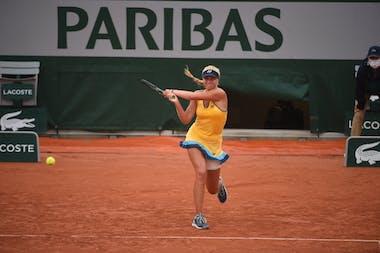 Clara Tauson, Roland Garros 2020, first round