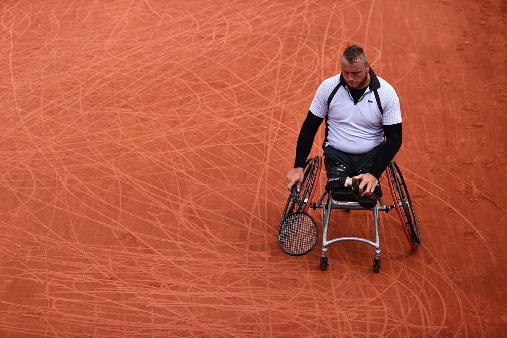 Nicolas Peifer, Roland-Garros 2021, men's wheelchair singles, quarter-finals