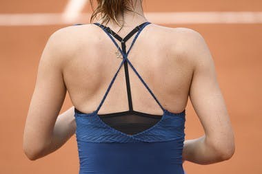 Maria Sharapova, Roland Garros 2018, Simple Dames, 1er Tour