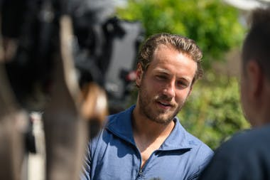 Roland-Garros 2018, media day, Lucas Pouille