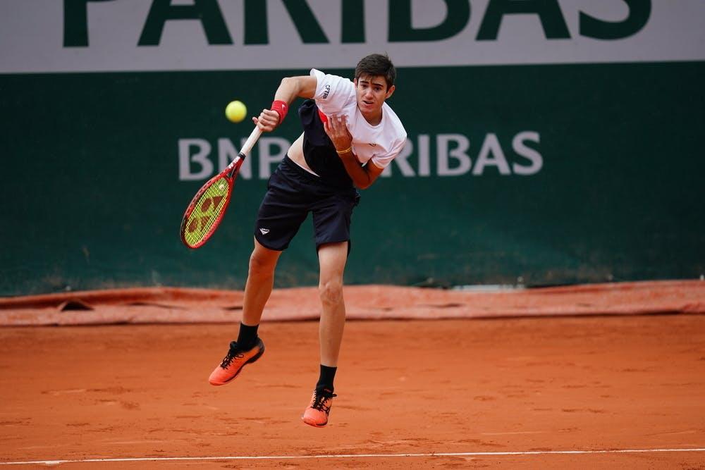 Gustavo Heide, Roland Garros 2020, girls' singles, second round