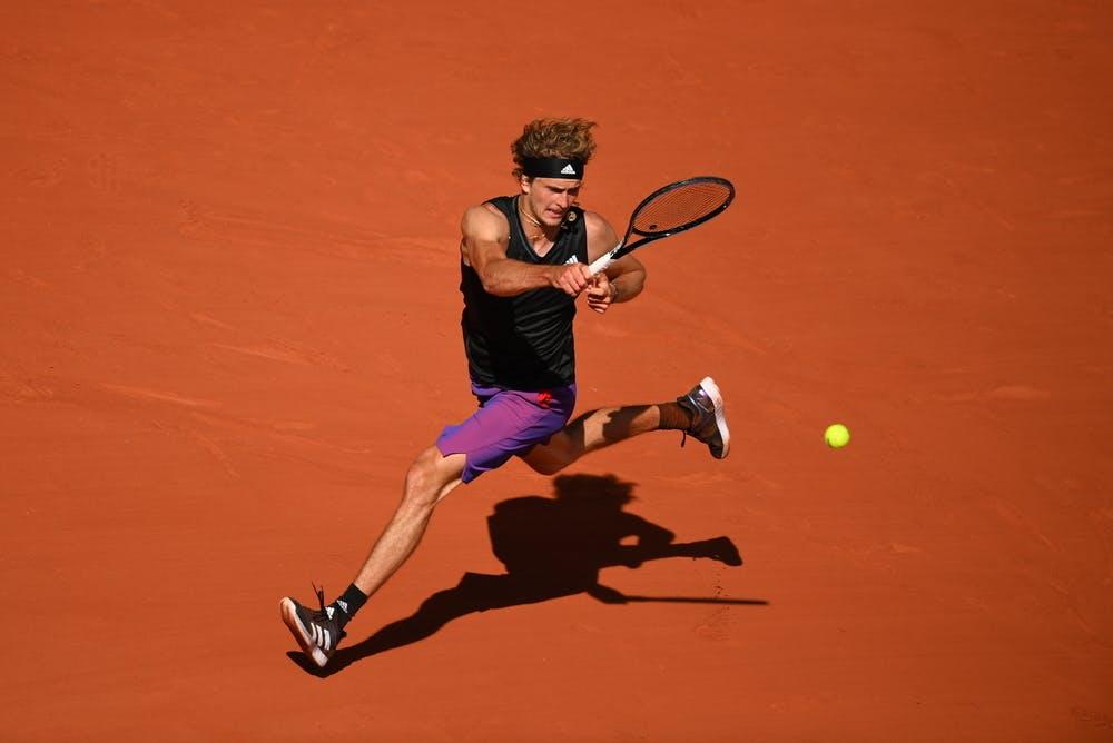 Alexander Zverev, Roland Garros 2021, semi-final