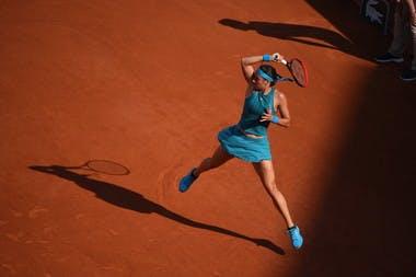 Caroline Garcia, Roland Garros 2018, Simple Dames, 3eme Tour