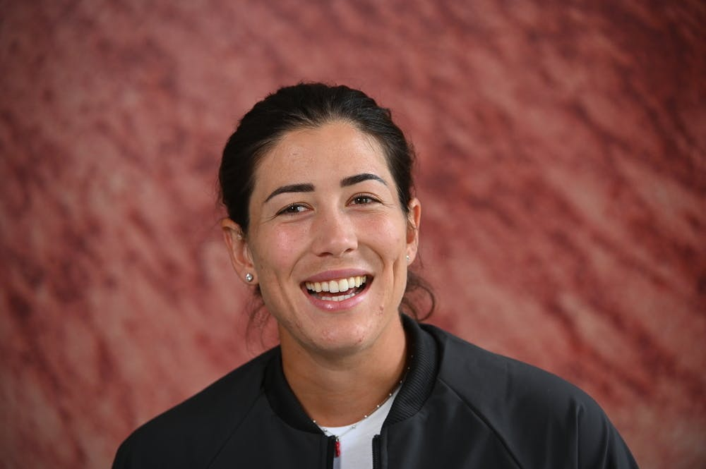 Garbine Muguruza, Roland Garros, media day