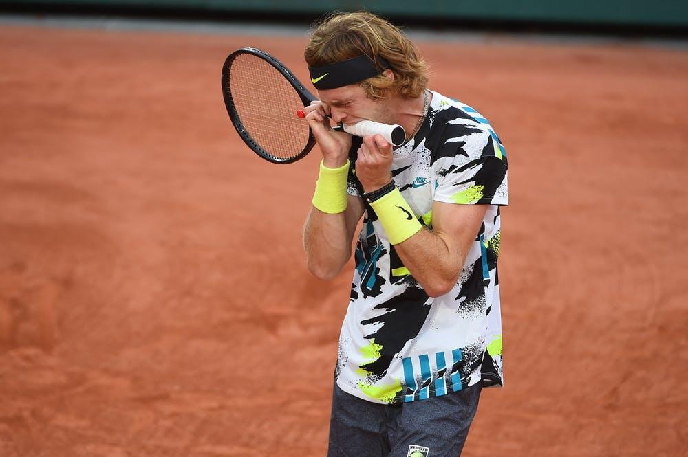 Andrey Rublev, Roland-Garros 2020, 1er tour