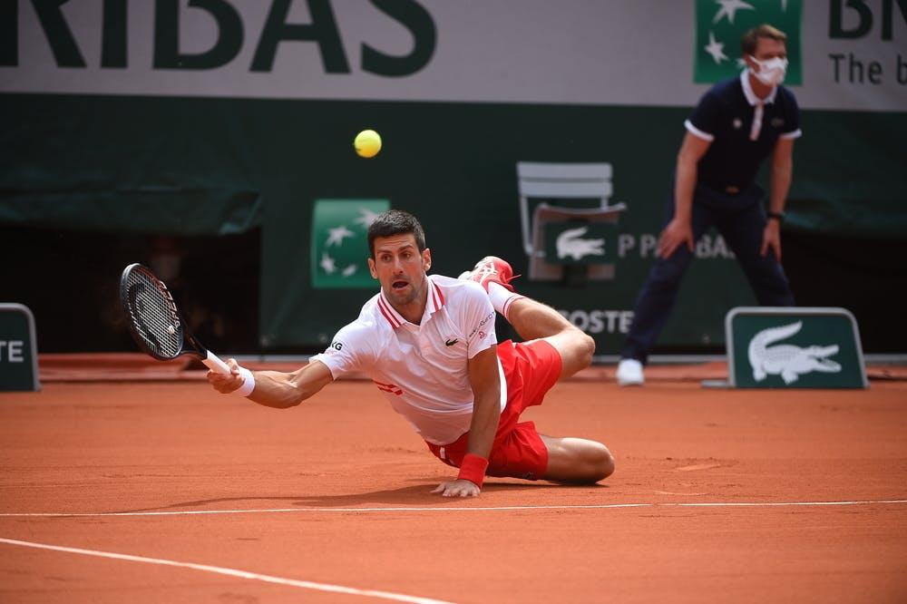 Novak Djokovic, Roland-Garros 2021, last 16