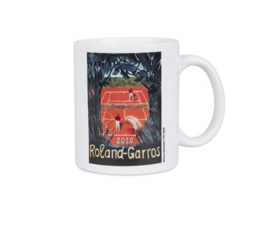 Mug affiche officielle Roland-Garros