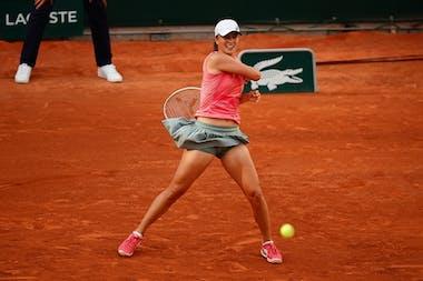 Iga Swiatek, Roland Garros 2021, second round
