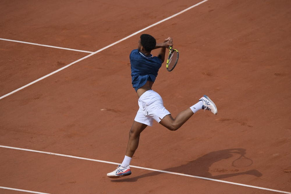 Arthur Fils, Roland-Garros 2021, boys singles, last 8