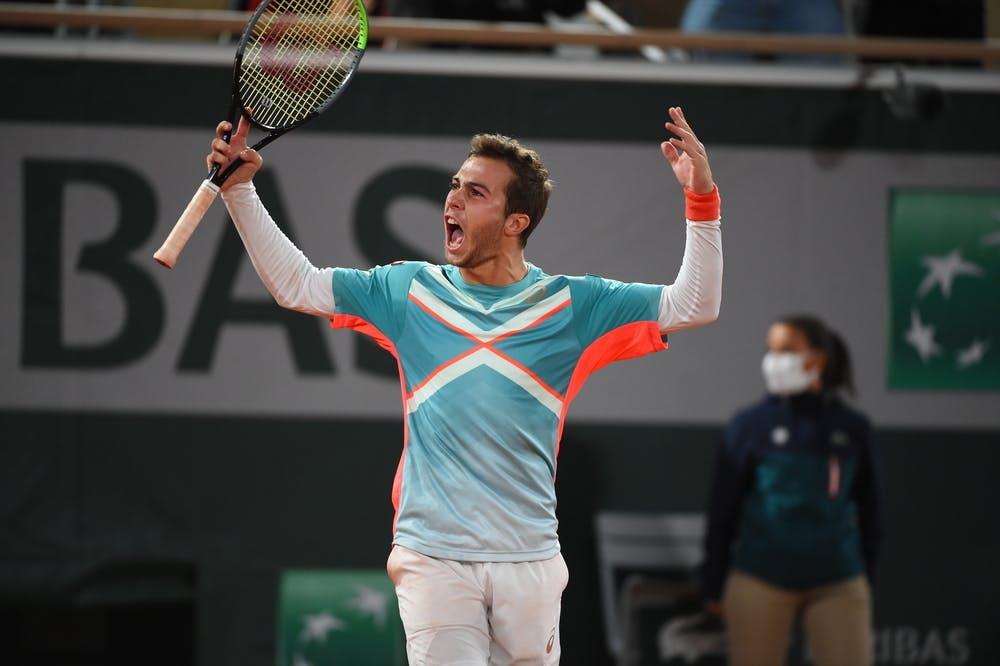 Hugo Gaston, Roland-Garros, 2020