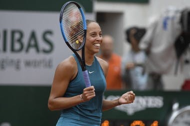 Roland-Garros 2018, 1/4 de finale, Madison Keys