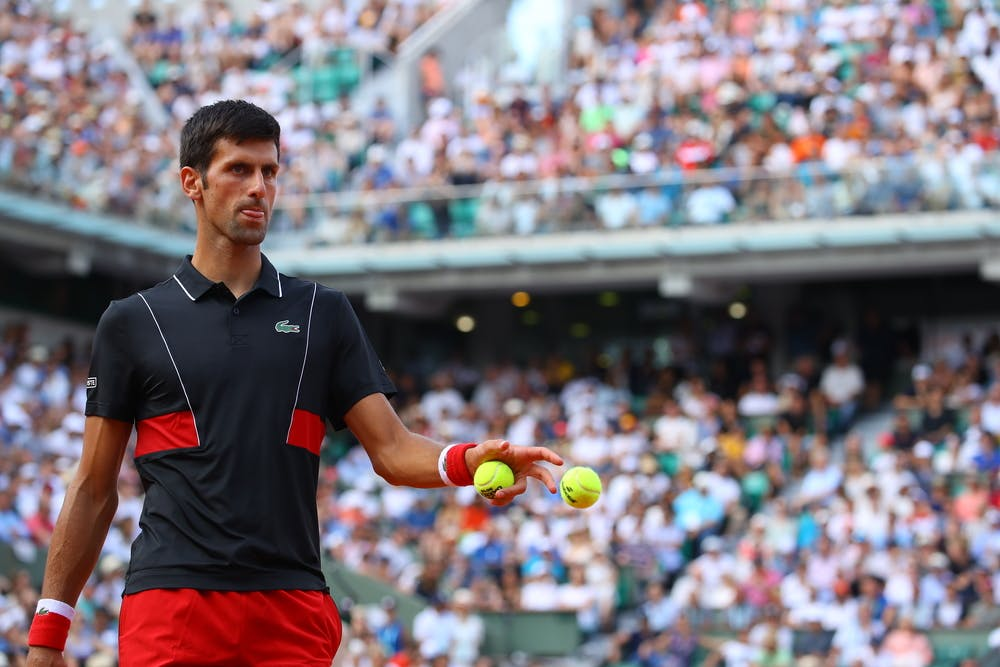 Novak Djokovic Roland-Garros 2018.