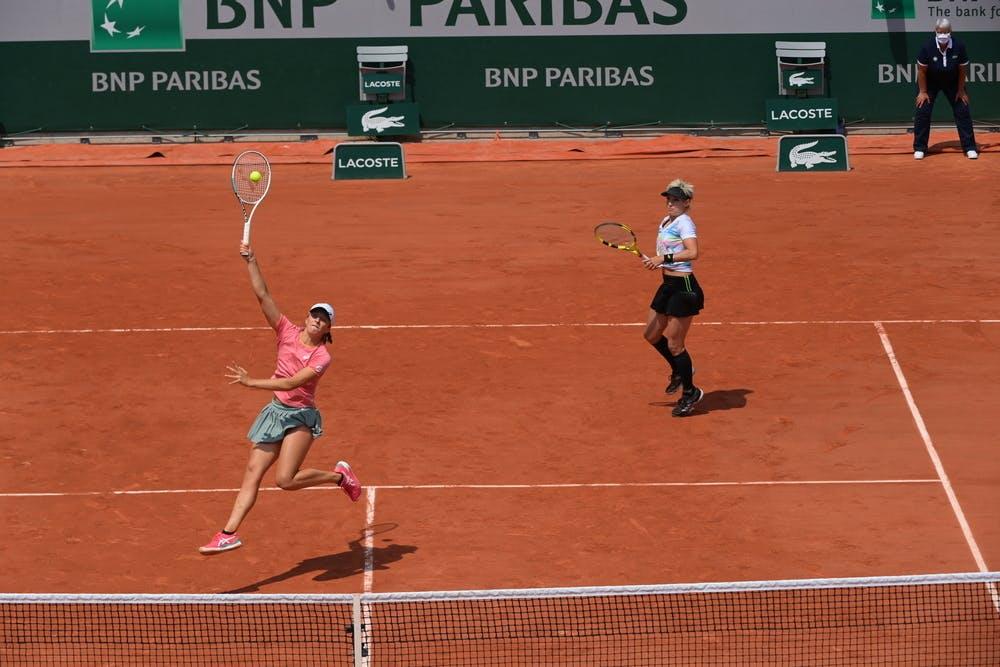 Iga Swiatek, Bethanie Mattek Sands, Roland-Garros 2021, women's doubles