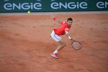 Novak Djokovic, Roland Garros 2021, first round