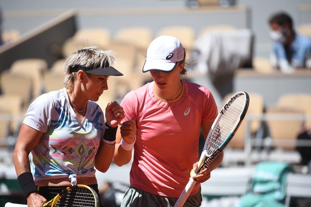 Bethanie Mattek-Sands, Iga Swiatek, Roland Garros 2021, doubles final