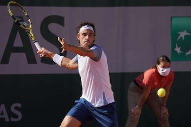 Marco Cecchinato, Roland Garros 2020, qualifying first round