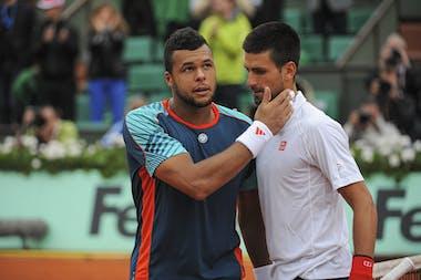 Djokovic against Tsonga at Roland-Garros 2012 (quarter-final)