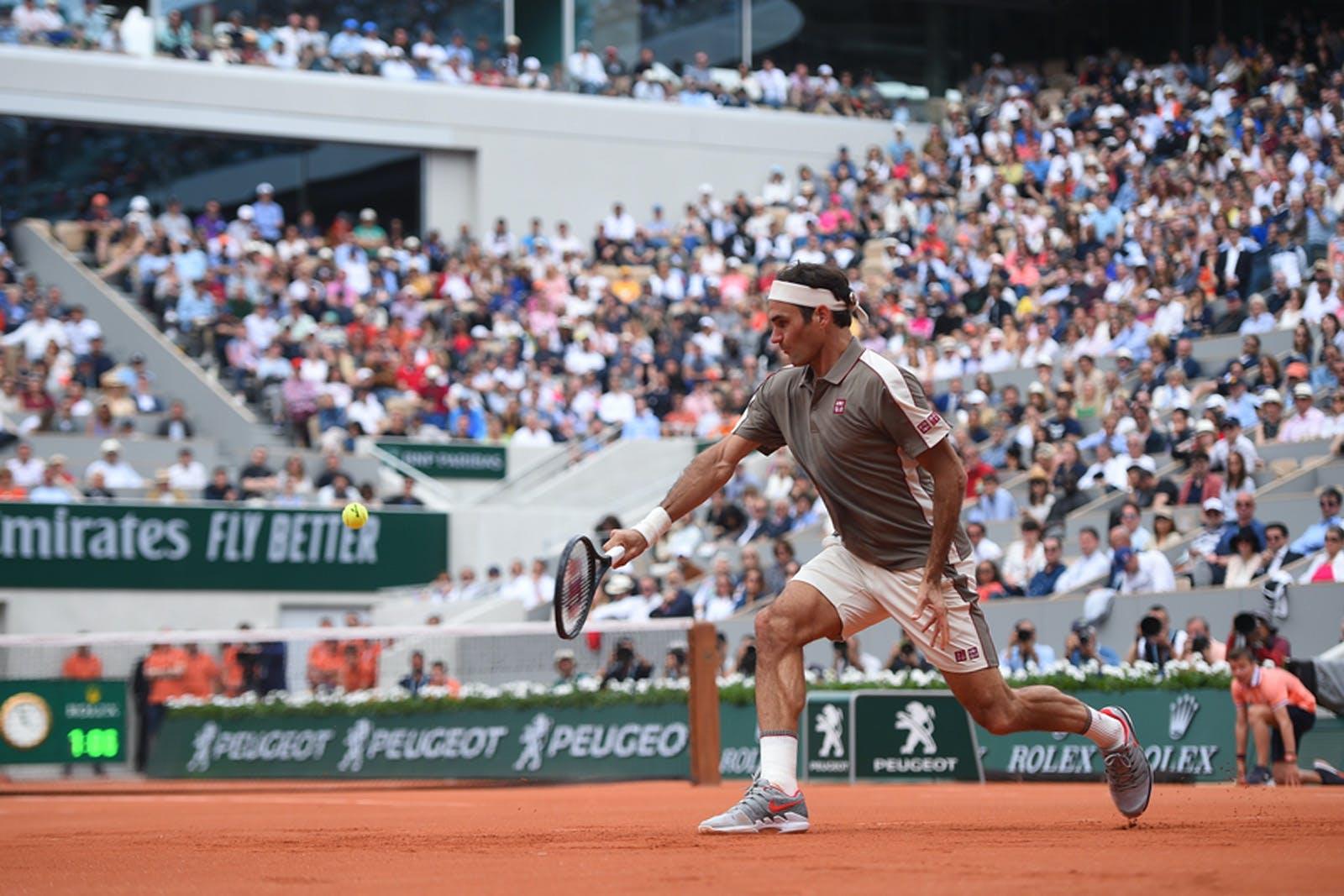 Roland-Garros 2019 - Roger Federer - 1er tour