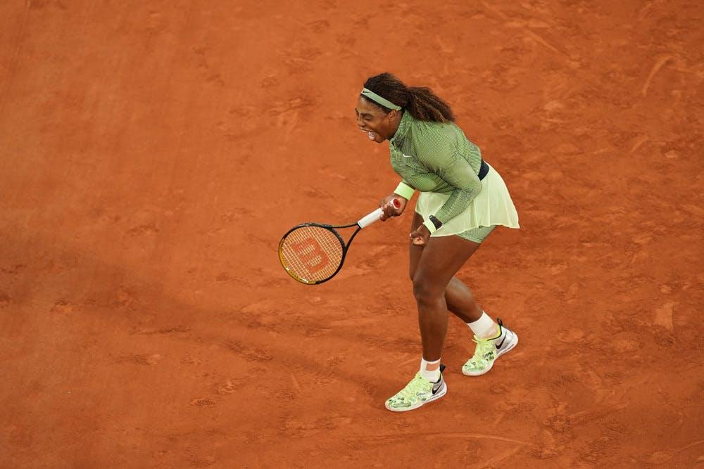 Serena WIlliams, Roland-Garros 2021 first round
