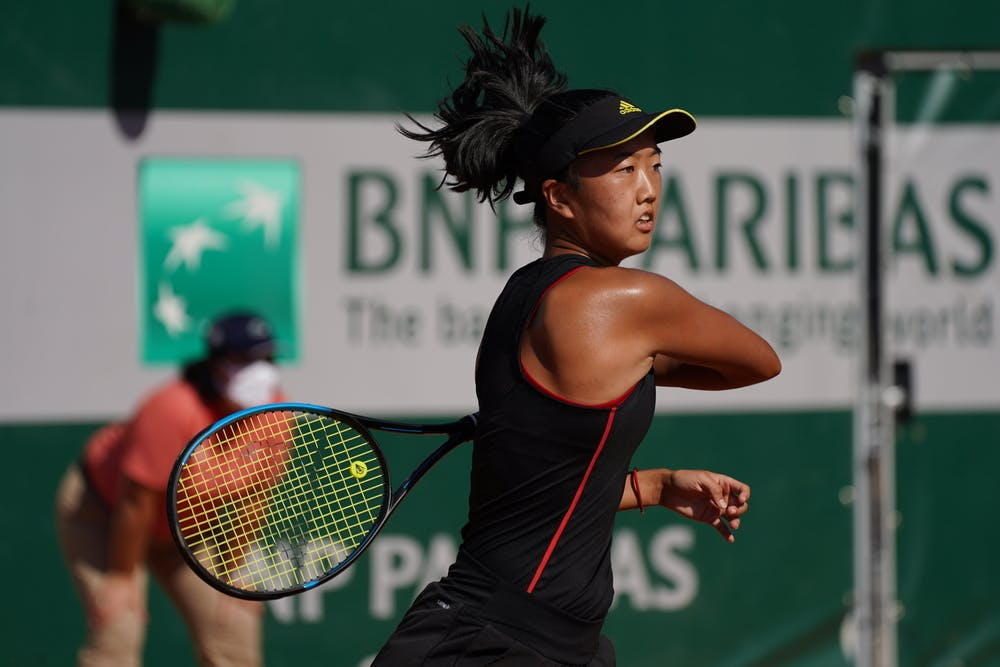 Ann Li, Roland Garros 2020, Qualifying first round