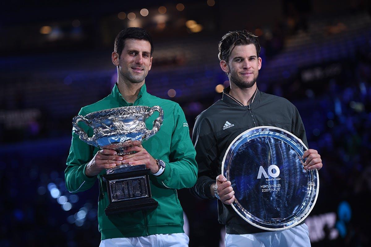 Australian Open 2020 Djokovic Thiem