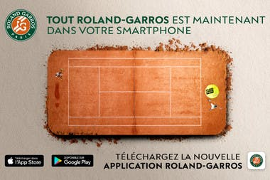 application officielle Roland-Garros 2018