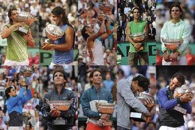 Rafael Nadal Decima Roland-Garros.