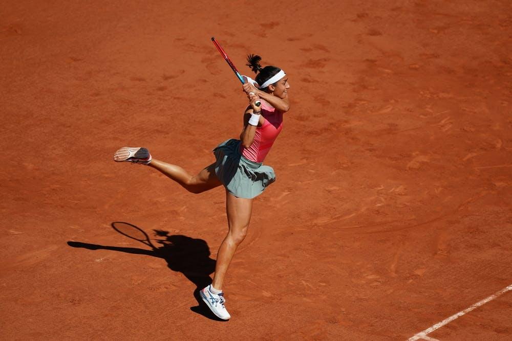 Caroline Garcia, Roland Garros 2021, first round
