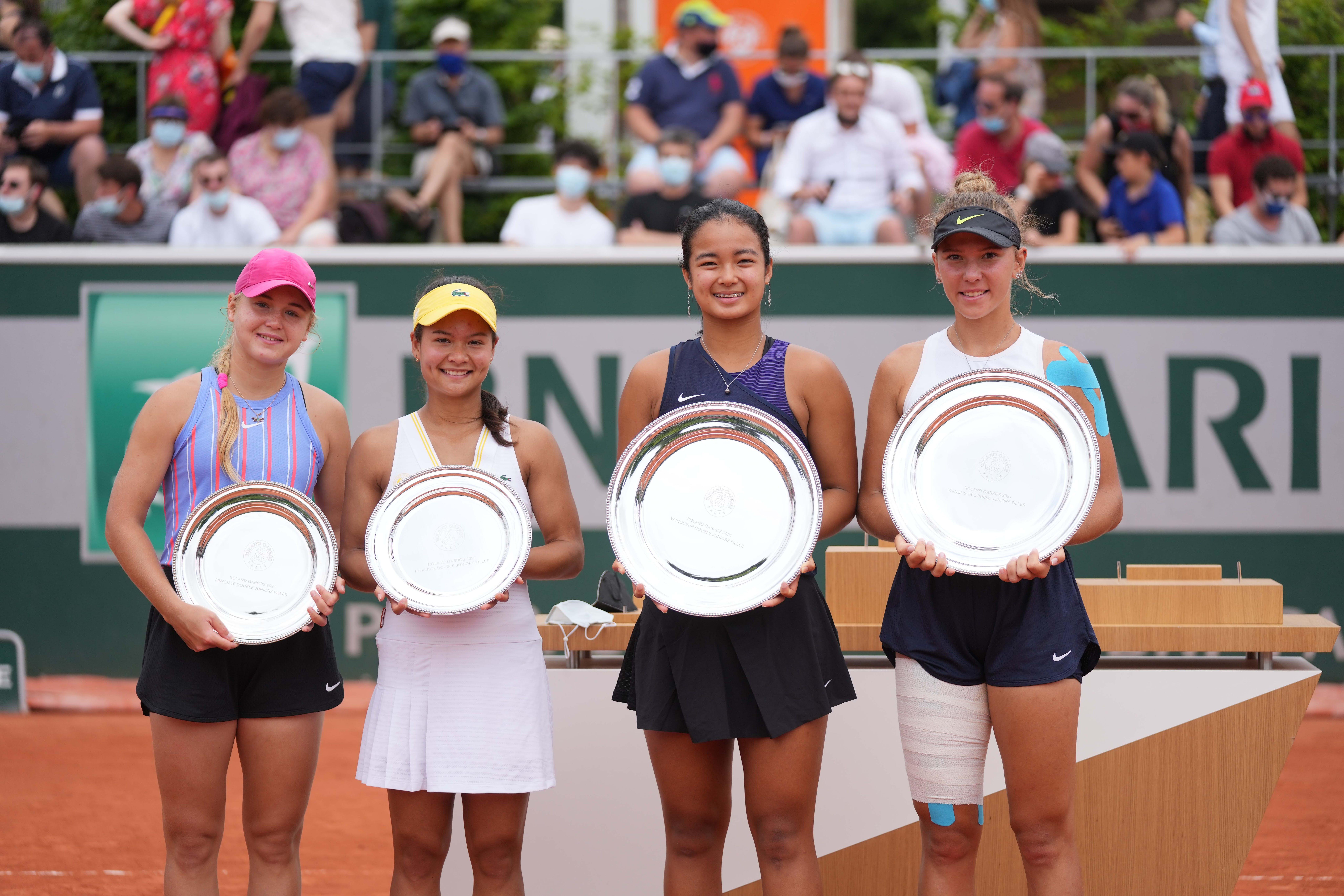 double filles Roland-Garros 2021