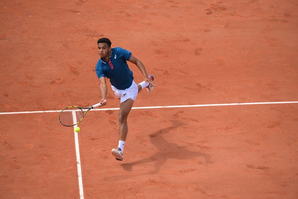 Arthur Fils, Roland Garros 2021, men's qualifying