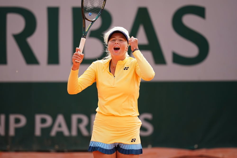 Clara Tauson, Roland Garros 2020, qualifications