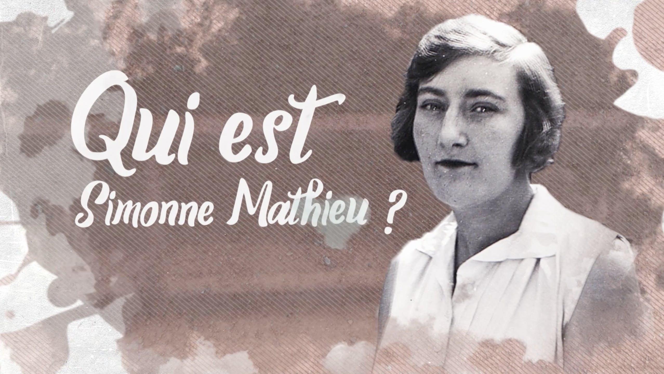 Qui était Simonne Mathieu, dont le nom a récemment été donné au nouveau court de Roland-Garros ?