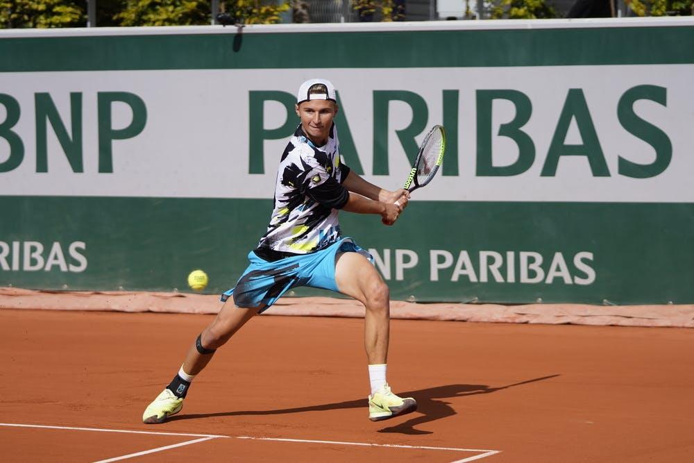 Leandro Riedi, Roland Garros 2020, girls' singles, second round