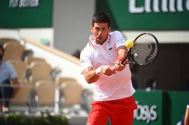 Novak Djokovic / Huitièmes de finale Roland-Garros 2021