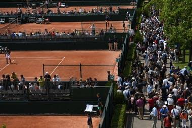 Allées de Roland-Garros qualifications qualifying draws.