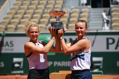 Siniakova Krejcikova Roland-Garros 2021