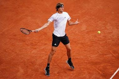 Alexander Zverev, Roland-Garros 2020, 2e tour