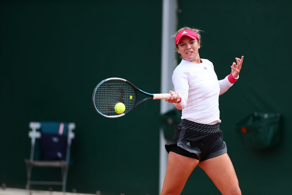 Caty McNally, Roland-Garros 2020, qualifying first round.