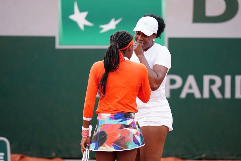 Coco Gauff, Venus Williams, Roland-Garros 2021, first round