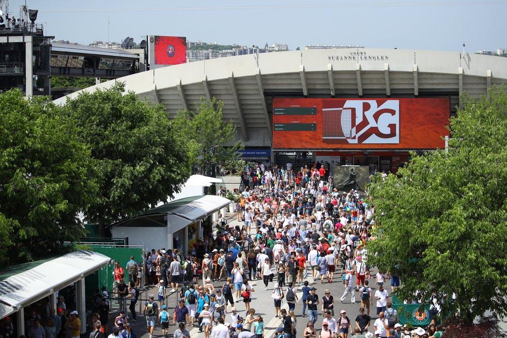 allées Roland-Garros court Suzanne-Lenglen